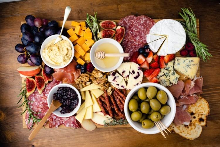 Snack platter - charcuterie board