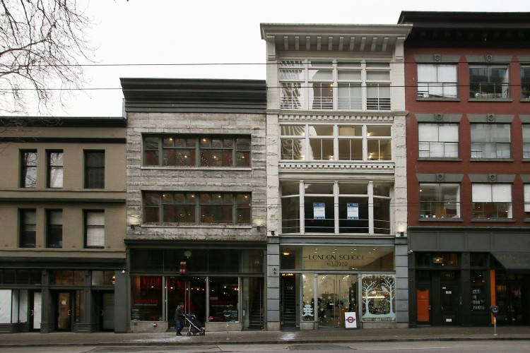 Gastown buildings