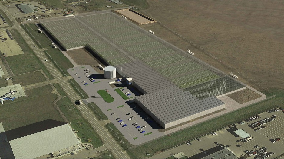Vancouver company building world s biggest grow op real for Production builder