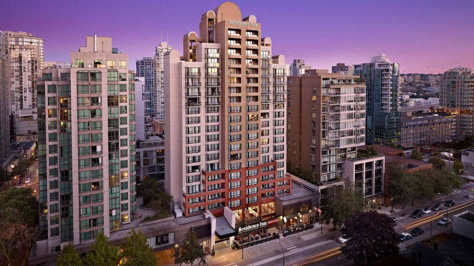 The Residence Inn By Marriott Vancouver Downtown Could Be Included In Silverbirch Hotels Resorts