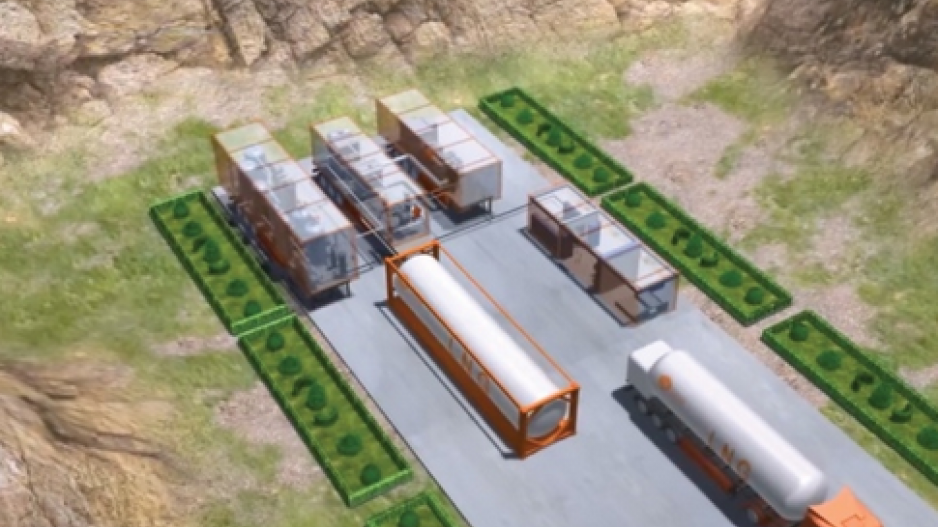 Chinese conglomerate plans mini LNG facilities in Fort Nelson