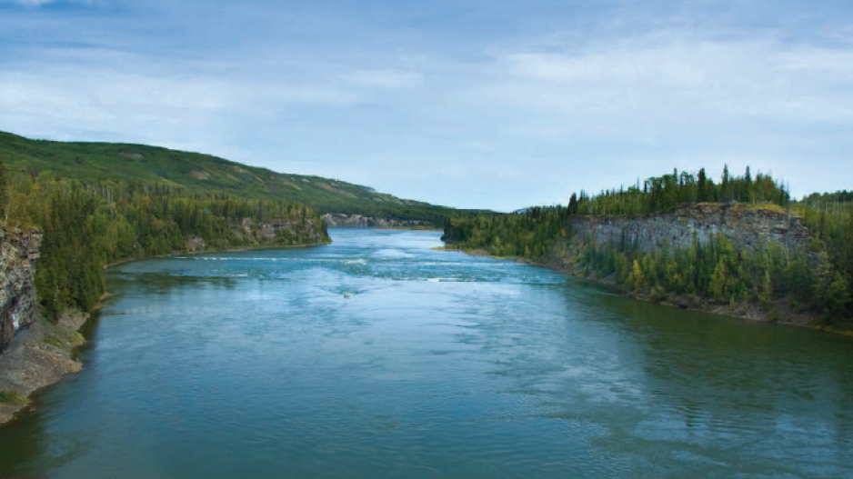 Site C hydroelectric project: a northern river of