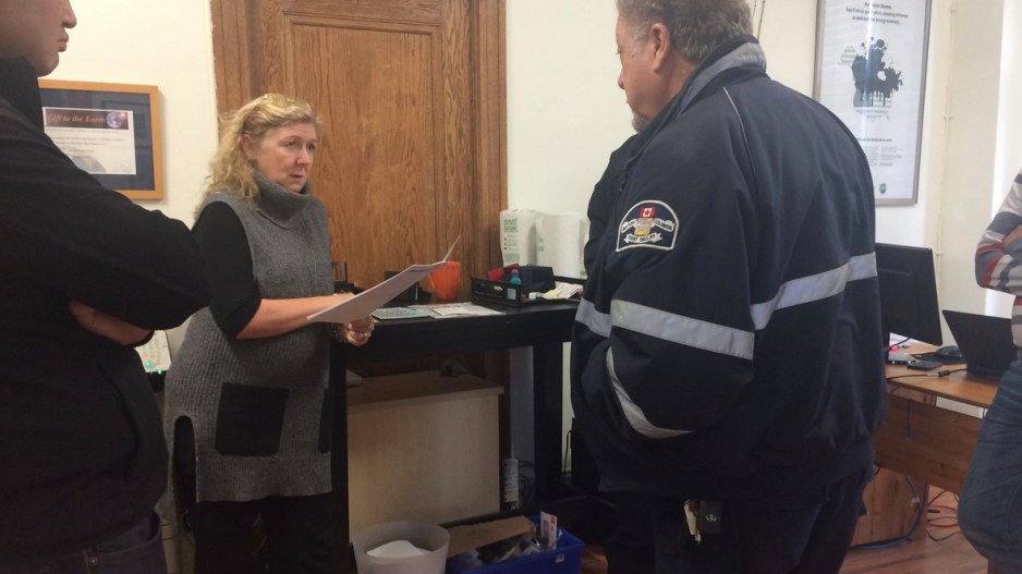 Updated) Environmental group's office raided to collect for