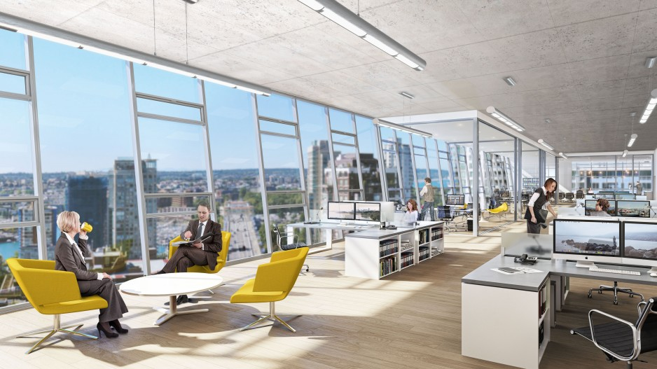 Office Towers Start With No Leases Signed