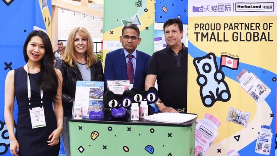Richmond nutritional gummy producer enters China's e